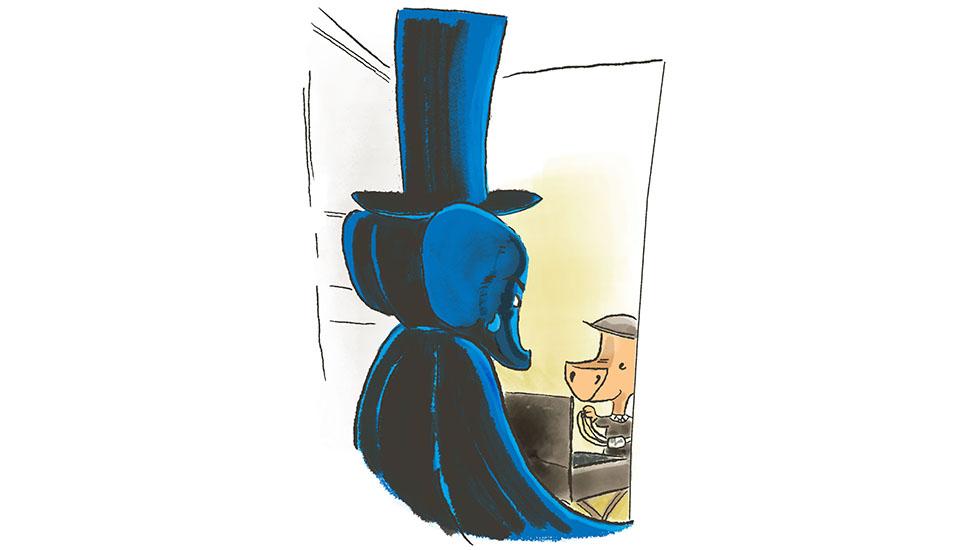 Alfred, pants salesman