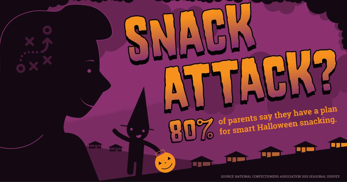 Halloween Social Illustration